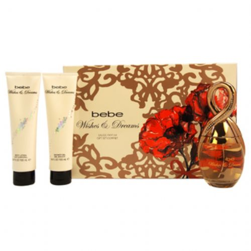 Bebe Wishes & Dreams 3 Piece Gift Set For Women