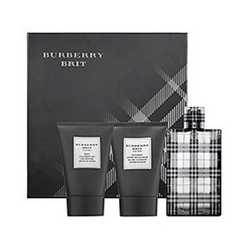 Burberry Brit Men 3 Piece Perfume Gift Set