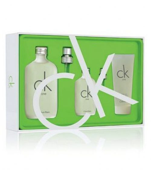 Calvin Klein CK One For Men 3 Piece Perfume Set