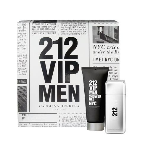 Carolina Herrera 212 VIP 2 Piece Perfume Set for Men