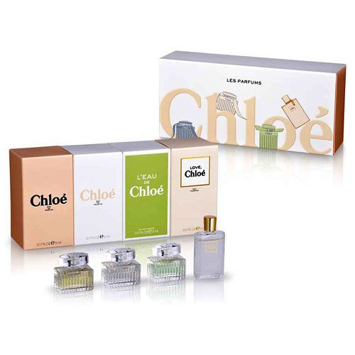 Chloe Miniature Collection 4 Piece Perfume Gift Set for Women