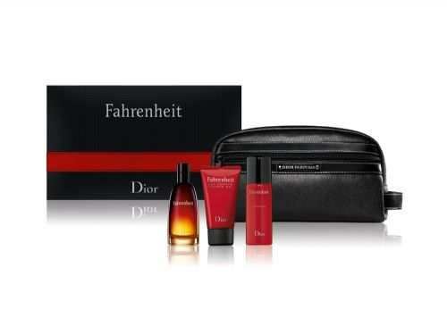 Christian Dior Fahrenheit 4 Piece Perfume Set For Men