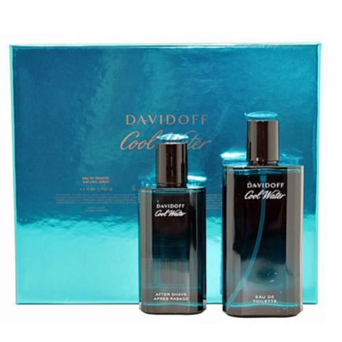 Davidoff Cool Water 2 Piece Perfume Gift Set for Men