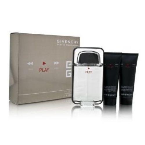 Givenchy Play 3 Piece Perfume Set For Men