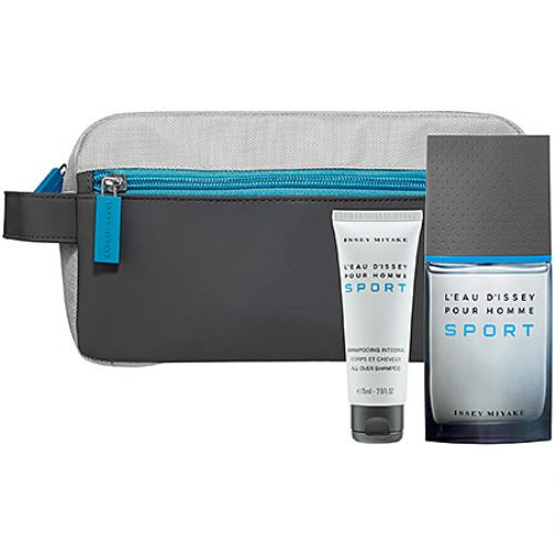 Issey Miyake Pour Homme Sport 3 Piece Gift Set For Men