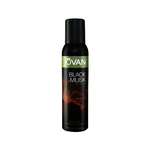Jovan Black  Musk Deodrant for Women 150ml