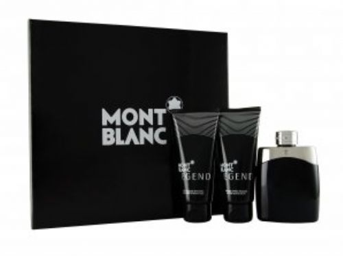 Mont Blanc Legend 3 Piece Perfume Set For Men