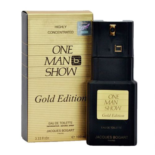 One Man Show Gold Edition by Jacques Bogart EDT for Men 100ml