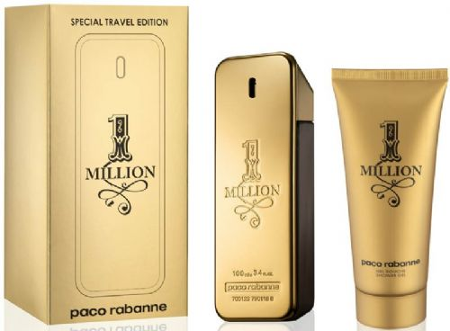 Paco Rabanne 1 Million 2 Piece Perfume Set for Men