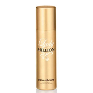 Paco Rabanne Lady Million Deodorant Spray For Women 150ml