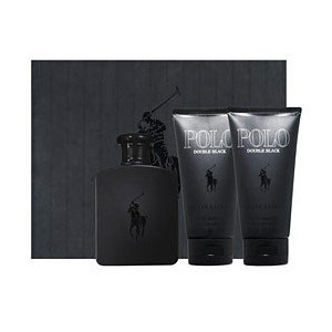 Ralph Lauren Polo Double Black 2 Piece Perfume Set for Men