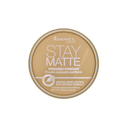 Rimmel London - Stay Matte Long Lasting Pressed Powder - 001 Transparent