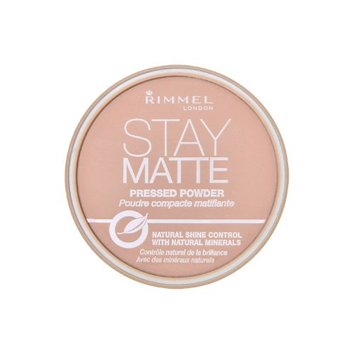 Rimmel London - Stay Matte Long Lasting Pressed Powder - 002 Pink Blossom