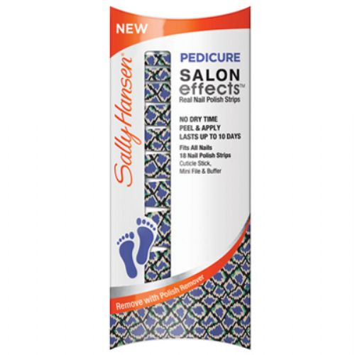 Sally Hansen Pedicure Salon Effects Real Nail Polish Strips - SNAKE RATTLE