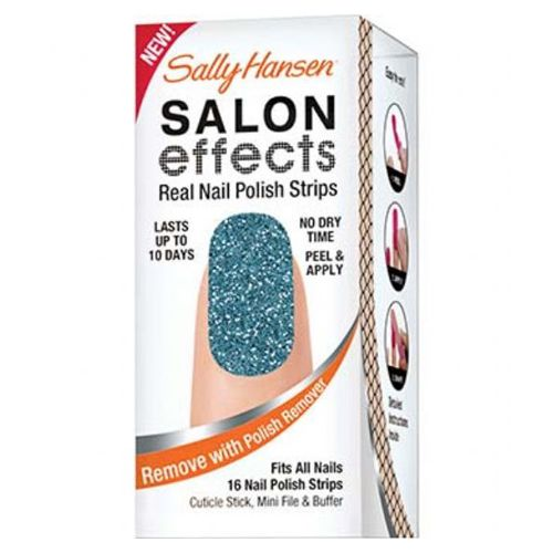 Sally Hansen Salon Effects Real Nail Polish Strips - BLUE ICE