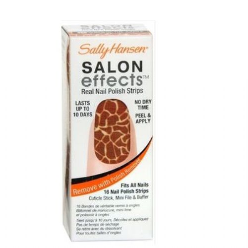 Sally Hansen Salon Effects Real Nail Polish Strips - QUEEN OF JUNGLE