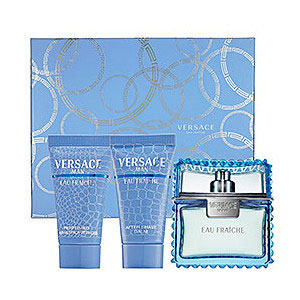 Versace Eau Fraiche 3 Piece Perfume Set For Men