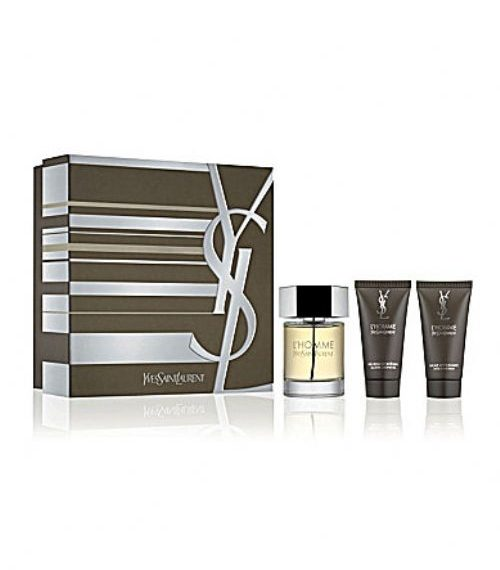 Yves Saint Laurent L Homme 3 Piece Perfume Gift Set
