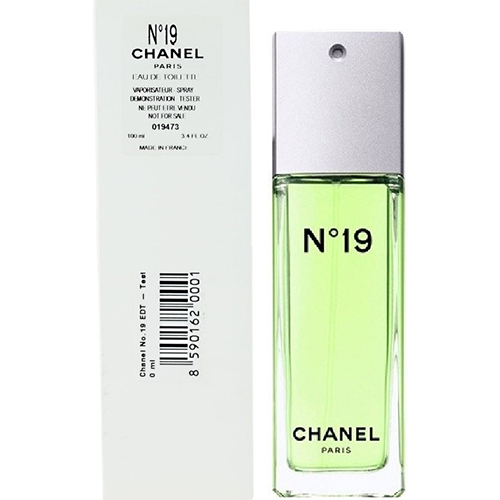Chanel No.19 by Chanel For Women Eau De Toilette 100ml Tester Perfumes for Men & Women ratans