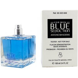 Antonio Banderas Blue Seduction Eau De Toilette for Men 100ml Tester Perfumes for Men & Women ratans