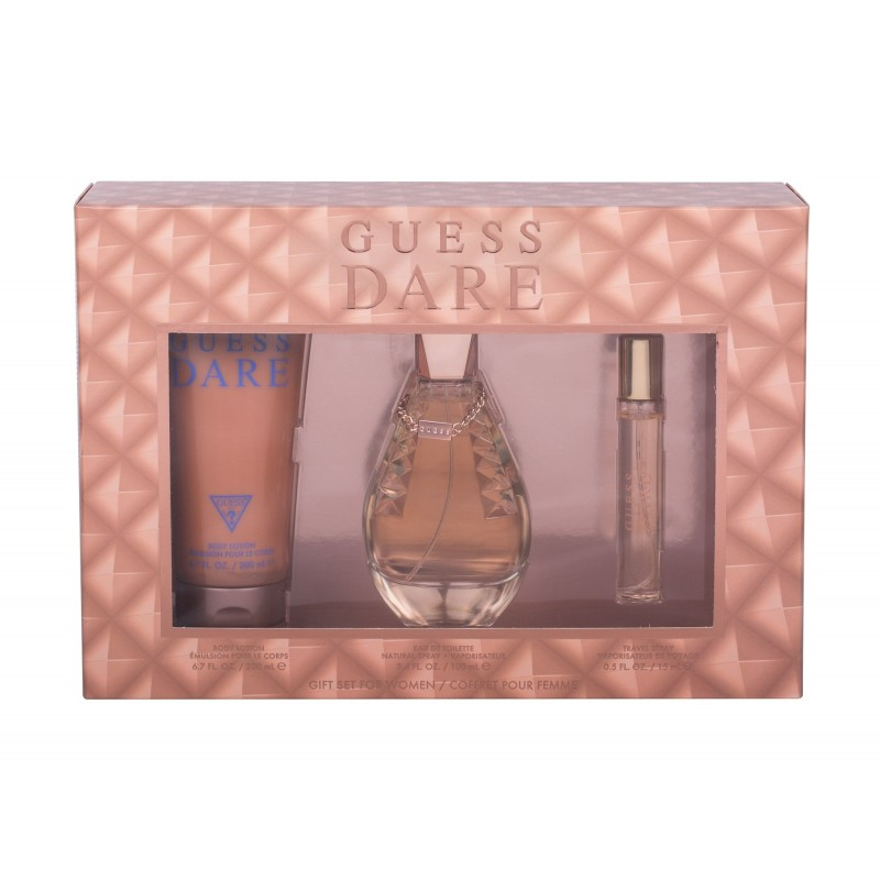Guess Dare 3 piece Gift Set for Women Perfumes for Men & Women ratans