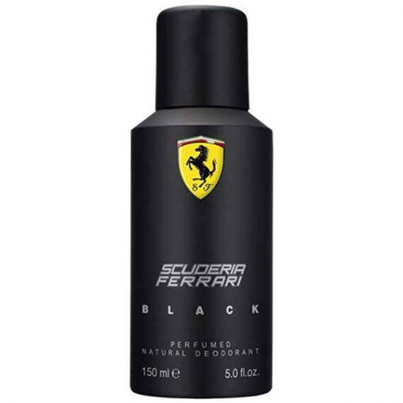 Get Ferrari Scuderia Black Deodorant For Men 150ml | Ratans