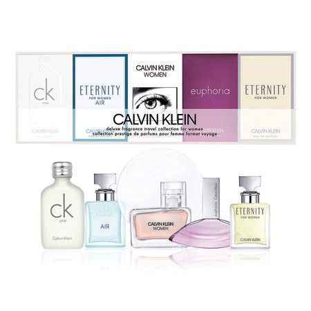 Calvin Klein CK Deluxe Travel Collection 5 Piece Set for Men & Women Gift Sets for Men ratans