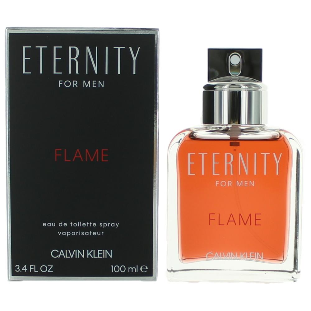 Calvin Klein Eternity Flame Men EDT 100ml Perfumes For Men ratans