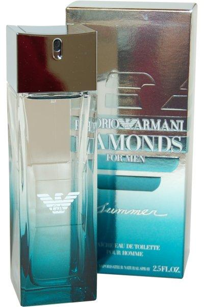 Giorgio Armani Diamonds Summer Eau De Toilette For Men 75ml Perfumes For Men ratans